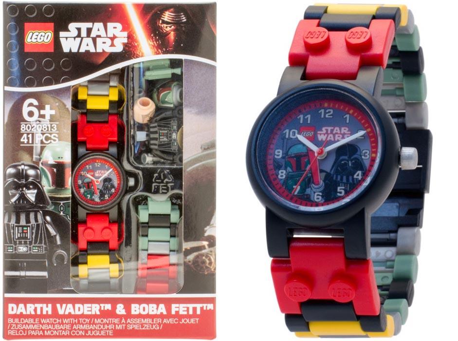 8020813 Boba Fett és Darth Vader karóra - Lego Óra - KockaNet.hu 3fb58c93dc