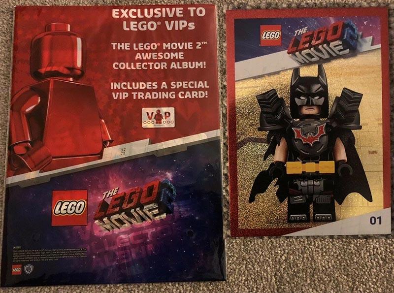 014aa4751c1e LEGO MOVIE 5005791, 5005791 Lego Movie 2 - Kártya gyűjtő album + VIP Batman  kártya ...